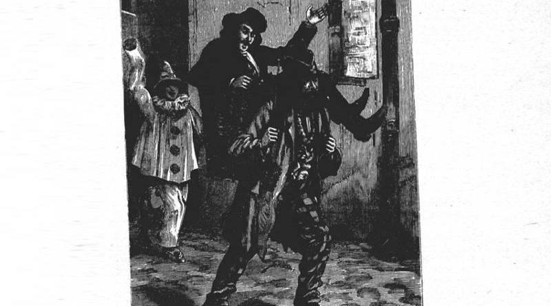 Milord l'Arsouille lors de la descente de la Courtille
