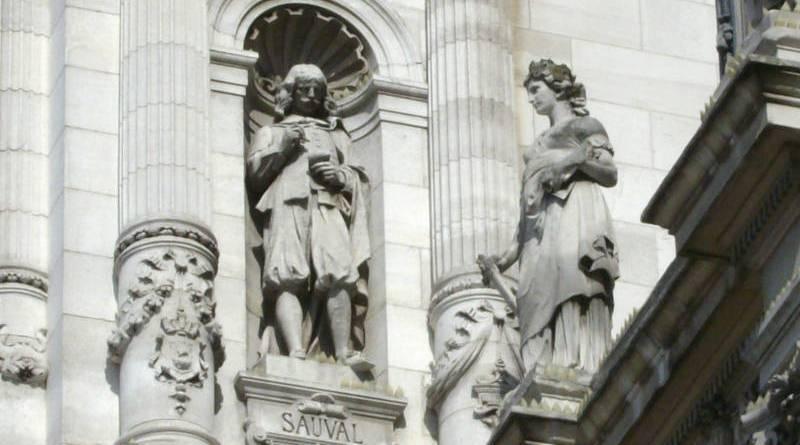 Henri Sauval sur l'Hôtel de Ville par Harmonia Amanda