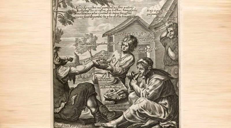 diseurs de bonne aventure illustration par Jacques Lagniet au XVIIe siècle
