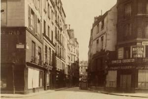rue de la grande truanderie par Atget en 1907
