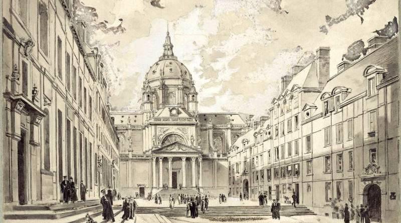 La Sorbonne par Emmanuel Lansyer