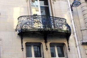 balcon de l'Hôtel Monttessuy