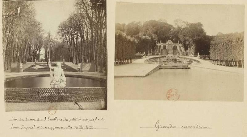 jardin de Saint Cloud au XIXe siècle sous le second empire