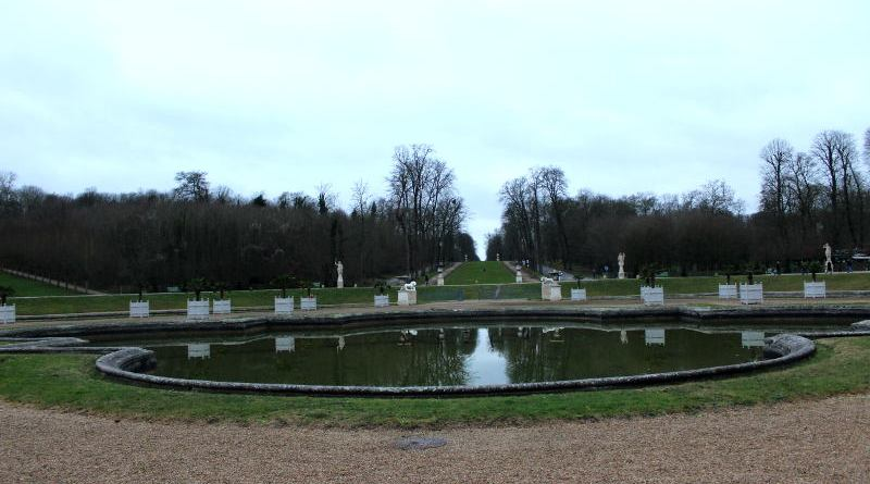 parterre des 24 jets de Saint Cloud