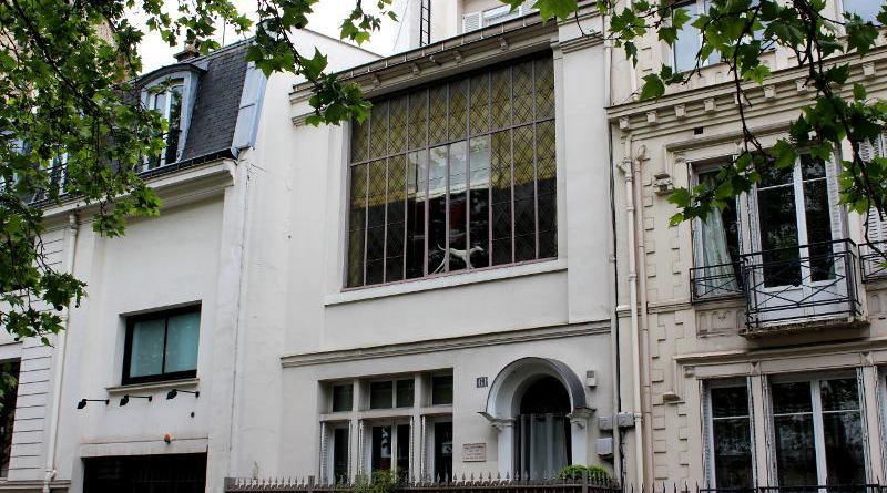 atelier de Georges Antoine Rochegrosse 61 boulevard Berthier