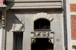 hôtel particulier construit par Georges Louis Bayard au 24 rue Eugène Flachat