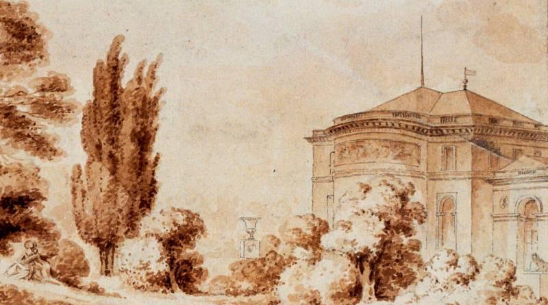 Pavillon de Bagatelle par Jean Baptiste Maréchal