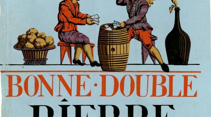 Apparition des affiches sur les murs à la Révolution - affiche publicitaire bonne double bière