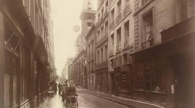 rue de Bretonvillier fin août par Eugène Atget
