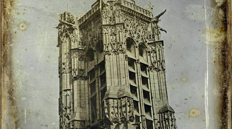 extrait de La Tour saint Jacques par Joseph Philibert Girault de Prangey en 1841