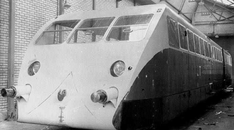 Autorail Bugatti à Chatillon en 1933