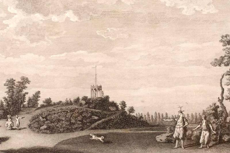 minaret du Jardin du duc de Chartres