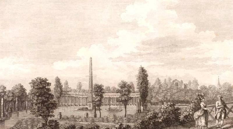naumachie du jardin du duc de Chartres