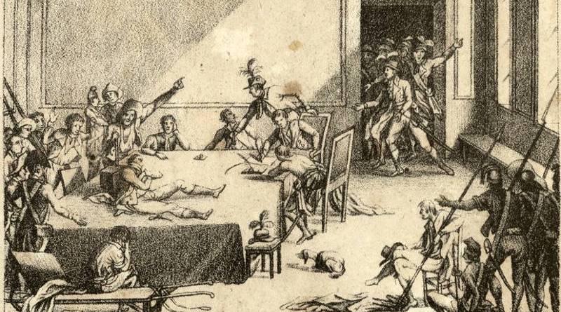 Chute de Robespierre le 9 Thermidor