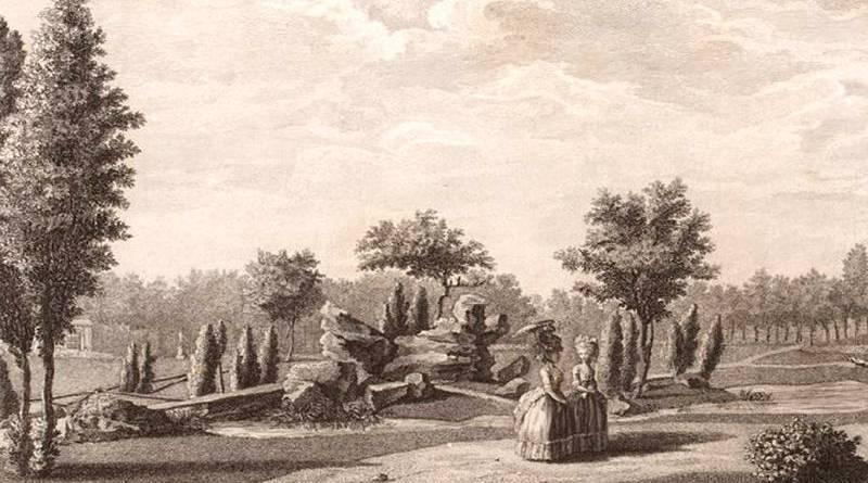 iles du jardin du duc de Chartres