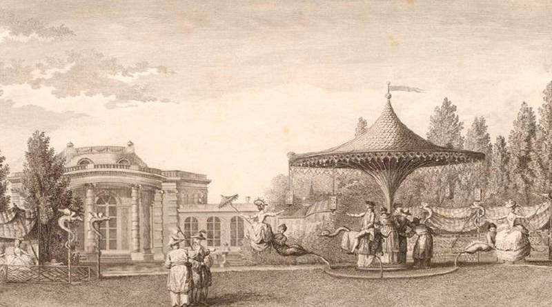 jeu de bague du jardin du duc de Chartres
