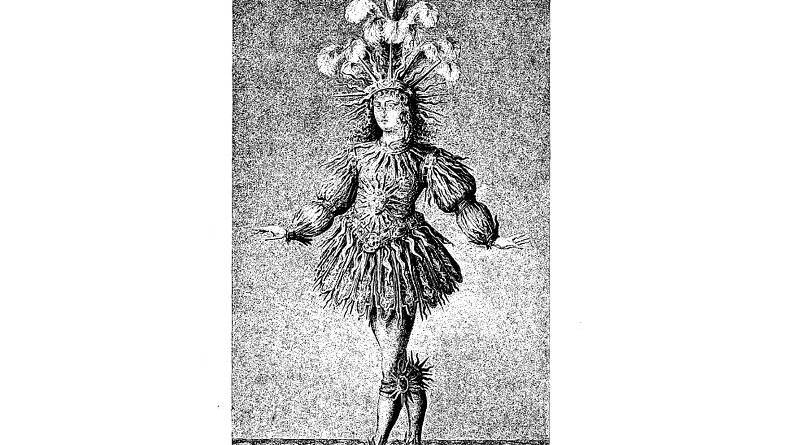Louis XIV dans le Ballet la Nuit