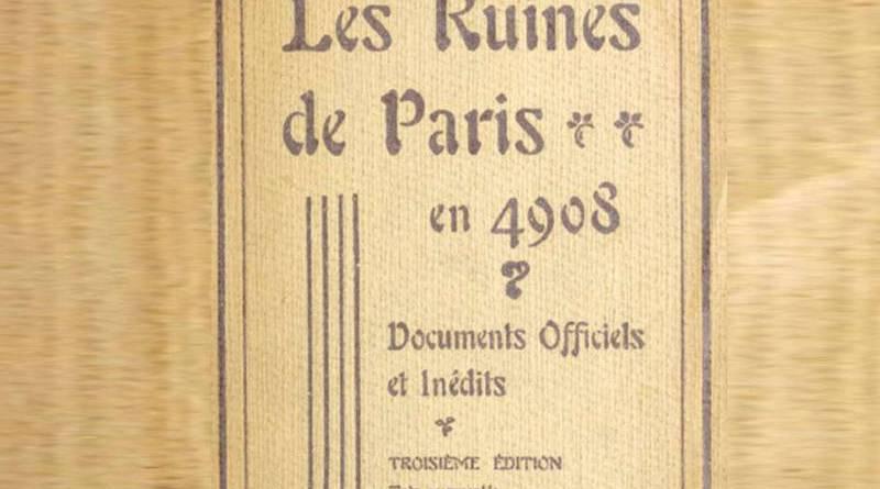 les ruines de Paris d'Alfred Franklin