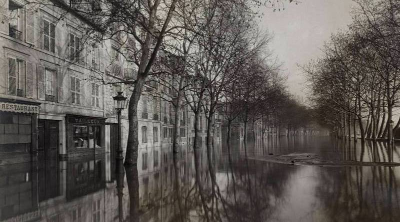 inondation du quai Debilly en 1910