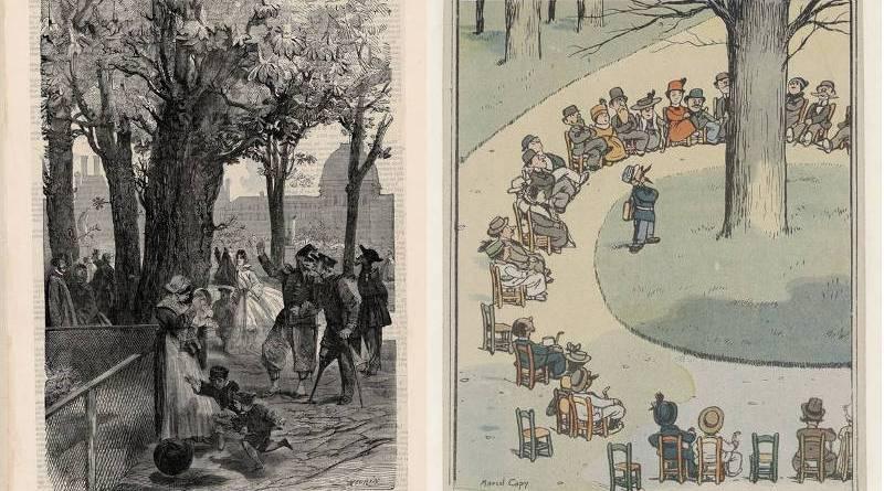 illustrations du marronnier du vingt mars issues de la Collection Jacquet