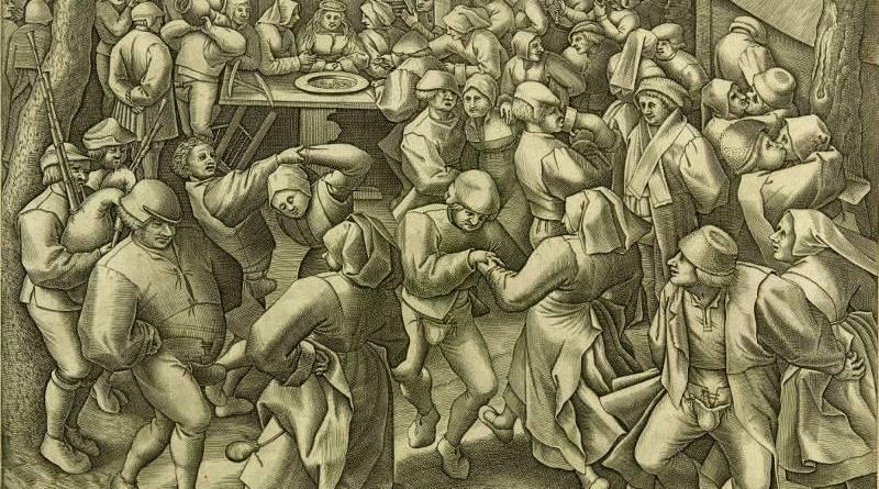 dance de noce rustique par Pieter van der Heyden