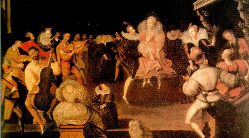 danse de la volte à Renaissance