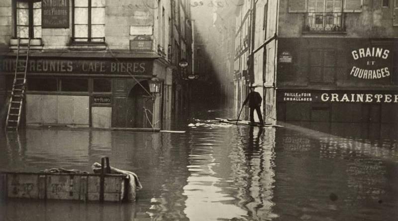 rue git le coeur inondée le 29 janvier 1910