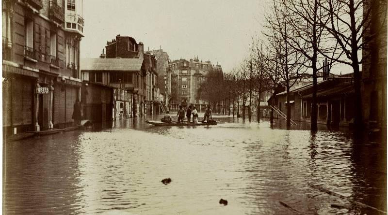 Rue Gros. Passy en janvier 1910 par Harry C. Ellis