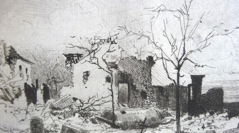 Une maison de campagne à Chatillon par Edmond Yon