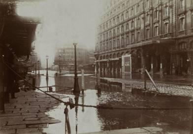 Hôtel Terminus rue Saint-Lazare en 1910 par Harry C. Ellis