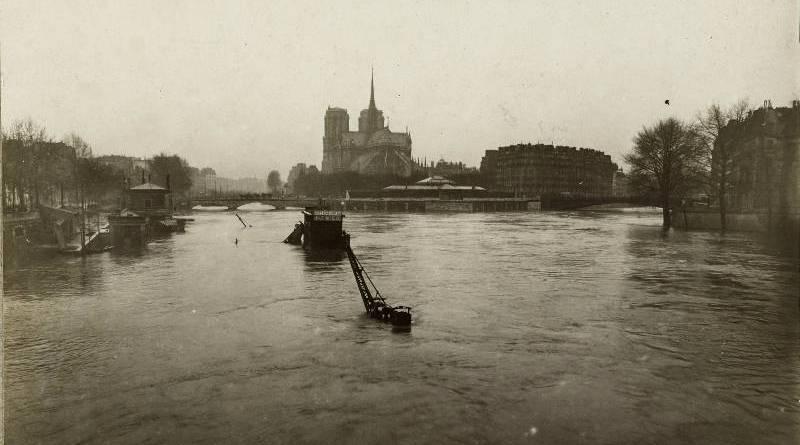 Ile de la Cité, depuis le pont de la Tournelle