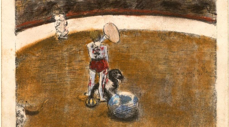 Au cirque Fernando par Edgar Degas