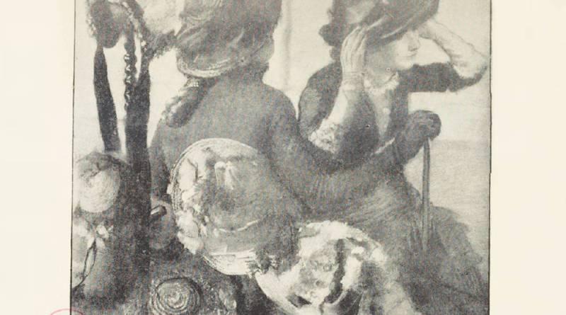 chez la modiste d'Edgar Degas