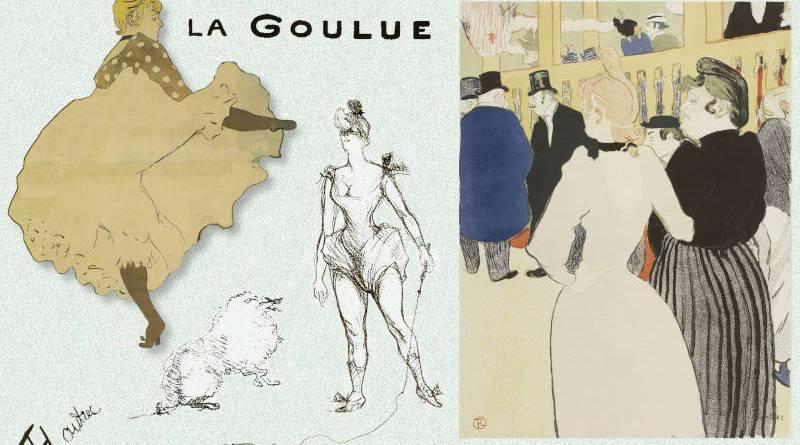 La Goulue par Toulouse Lautrec