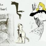 Yvette Guilbert par Toulouse Lautrec