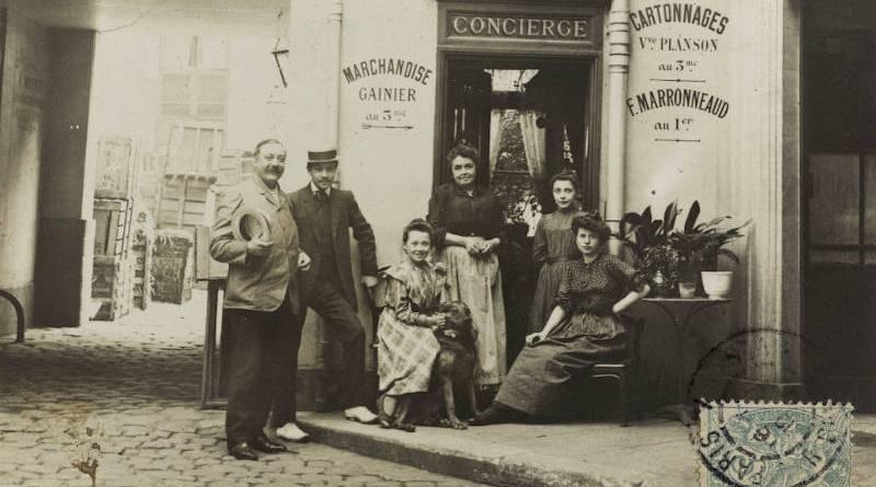 Loge de concierge sur cour, 6, rue des Haudriettes