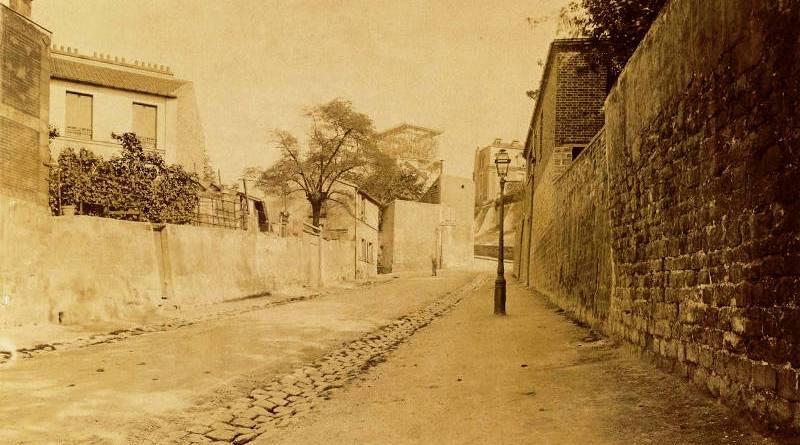 Rue de l'Abreuvoir par Eugène Atget en 1899