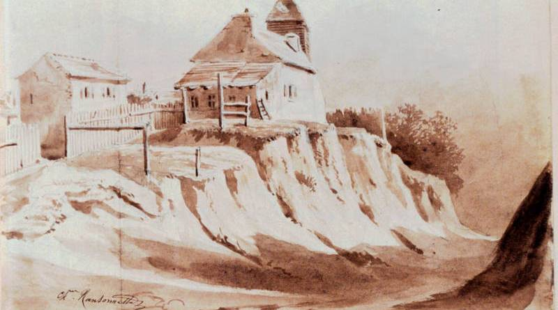 Au moulin des prés sur la butte aux Cailles par Charles Ransonette