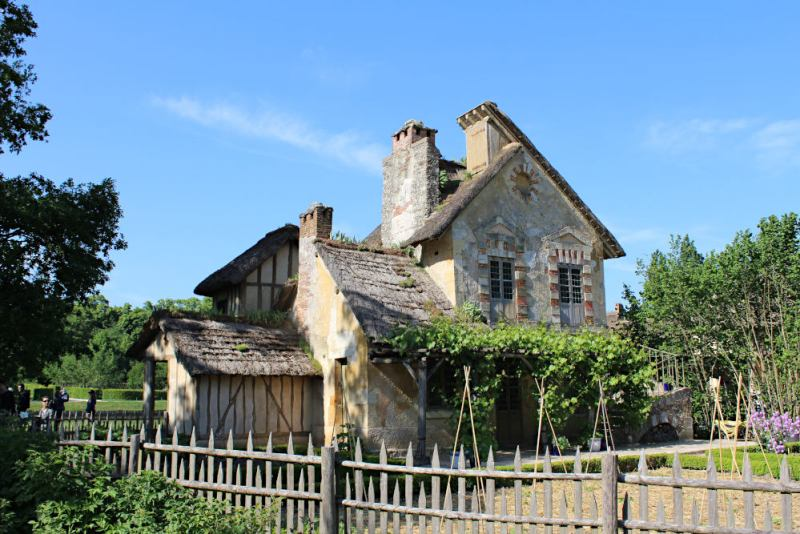 Le moulin du hameau de la reine à Trianon