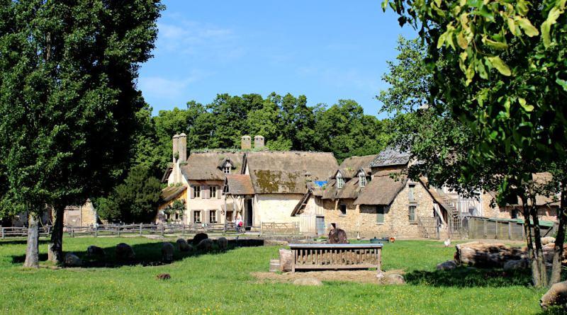 la ferme du hameau de la reine à Trianon