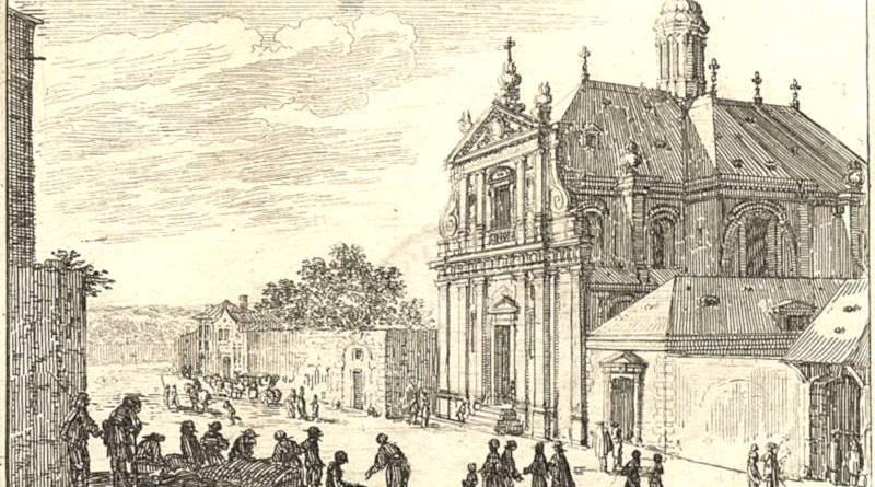 L'église noviciale des Jésuites du fautbourg Saint Germain