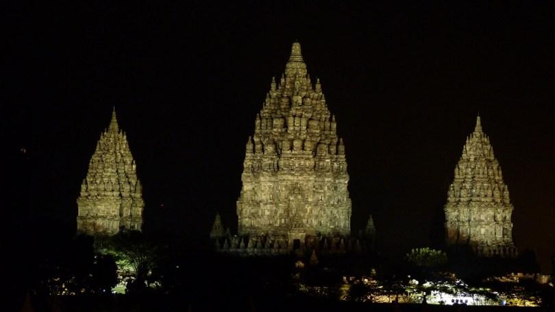 Le Prambanan, décor somptueux du spectacle