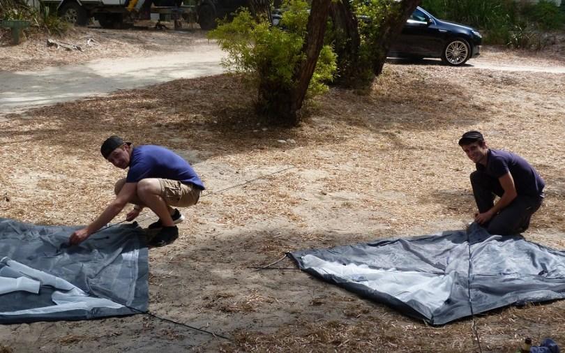 Les pros du camping !