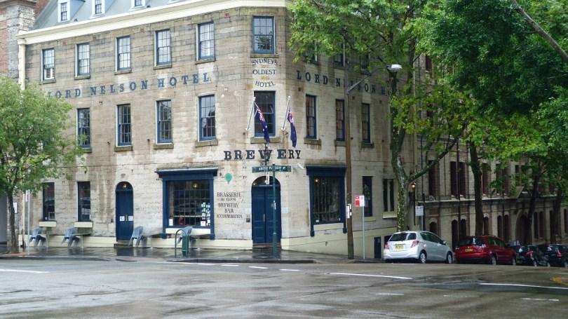 Le Lord Nelson Brewery Hotel, le plus vieil hôtel de Sydney