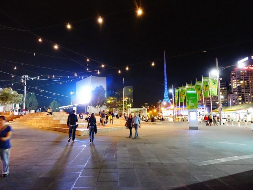 Melbourne Fed Square ville australie