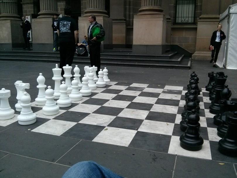 Melbourne jeu ville