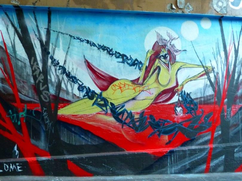 Melbourne peinture street art