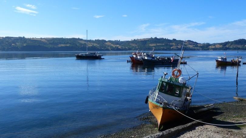 Chiloe bateau chili