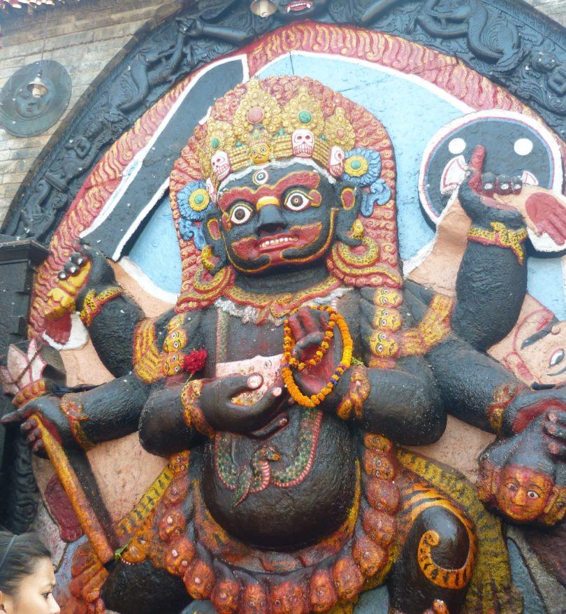 Durbar square nepal katmandou vallee