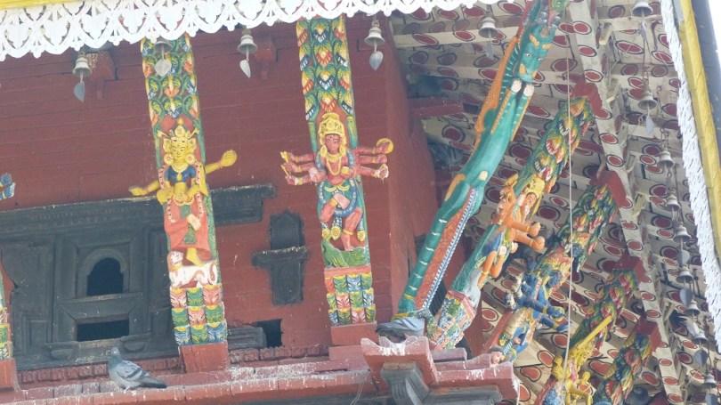Durbar square temple Patan Nepal